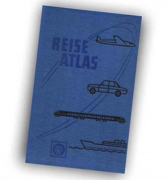 Reise Atlas der Deutschen Demokratischen Republik. OSTALGIE