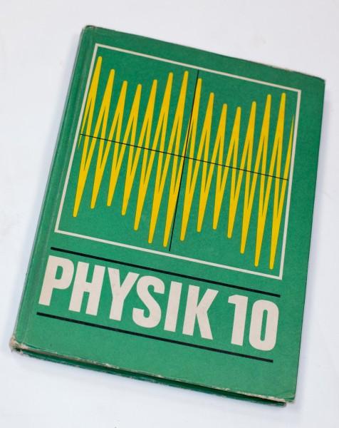 DDR Schulbuch | Physik Klasse 10 | 4. Ausgabe 1970 Ossikult
