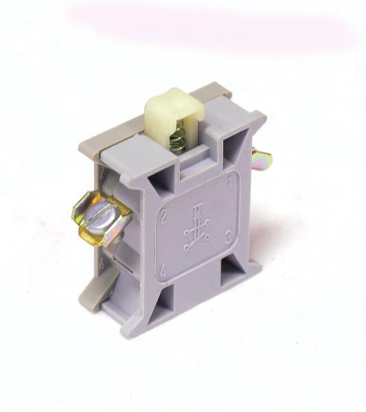 100 Stk. DDR Stösseltaster B 11 S Robotron f. Meldeleuchten Ø 22,5 mm