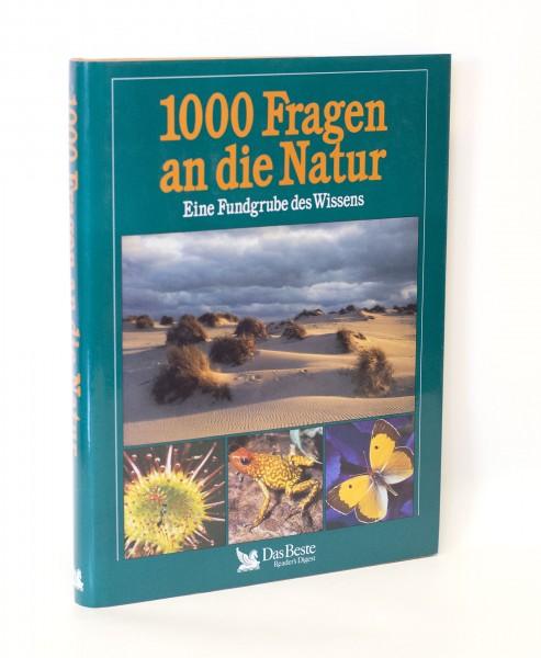 1000 Fragen an die Natur Das Beste Reader´s Digest