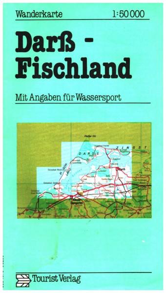 DDR Wanderkarte Darß - Fischland 1977