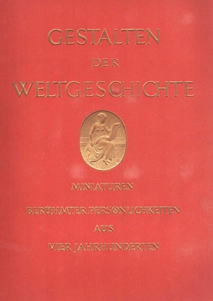 Gestalten der Weltgeschichte Sammelbilderalbum | Zigaretten 1933