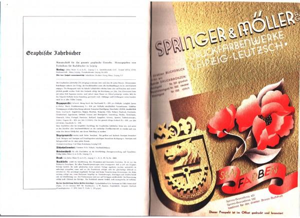 Graphische Jahrbücher 56. Heft 1 Januar 1935