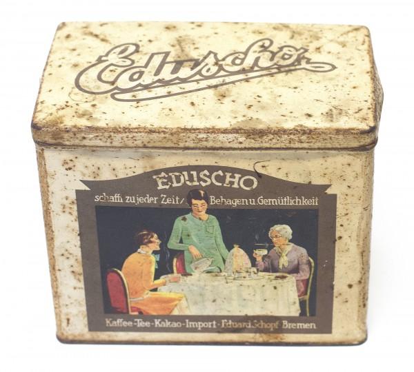 Alte Kaffedose von Eduscho 30iger Jahre