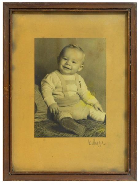 Portraitfoto kl. Junge Bube 1930iger DEKO shabby Chic