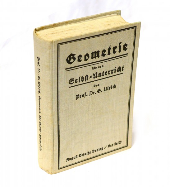 Geometrie für den Selbst-Unterricht 1925