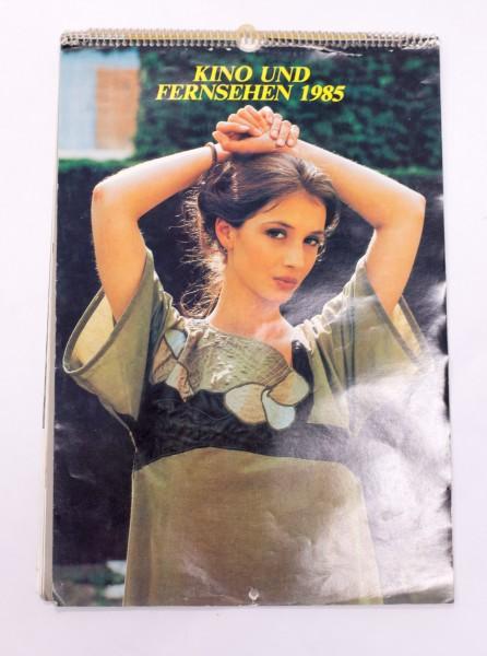 DDR Kalender Kino und Fernsehen 1985