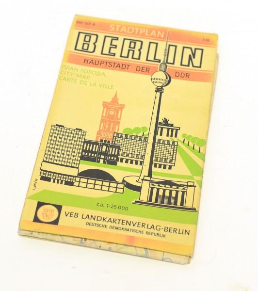 Stadtplan Berlin Hauptstadt der DDR