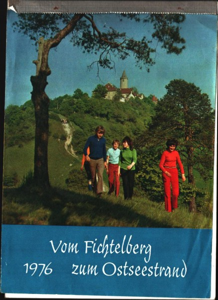 DDR Kalender 1976 vom Fichtelberg zum Ostseestrand
