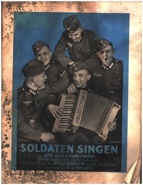 Soldaten singen alte und neue Lieder - um 1950