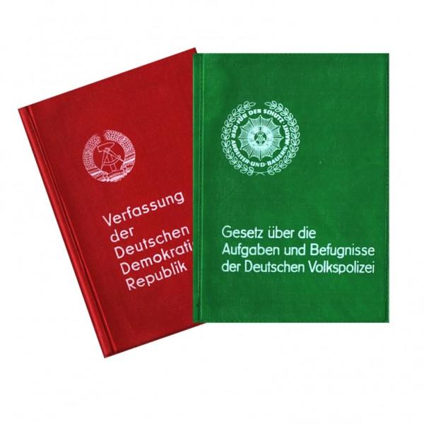 Verfassung der DDR & Gesetz Befugnisse der Polizei 70er