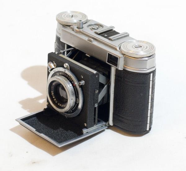 Certo Durata II - Meyer Trioplan 2.9 / 50mm + Ledertache