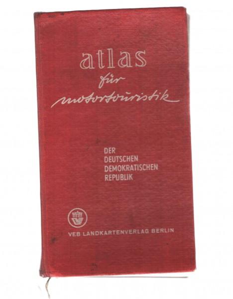Atlas Motortouristik DDR 1962 erste Auflage