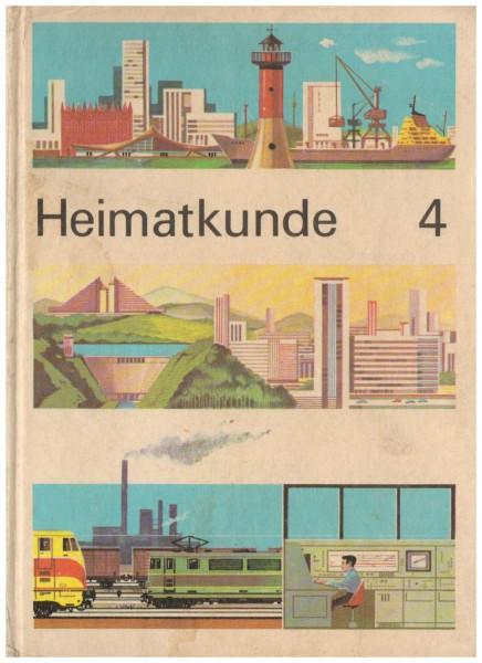 Lehrbuch Heimatkunde DDR Klasse 4 von 1975