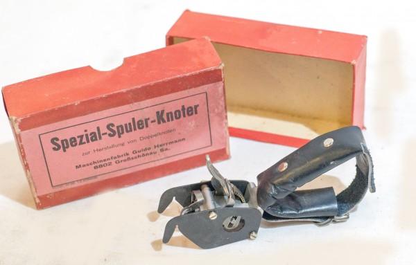 Spezial Spuler Knoter Knotengerät selten rar