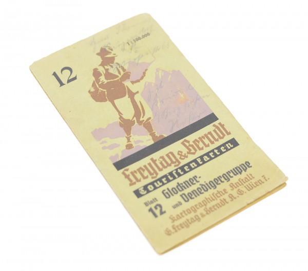 Touristenkarten Blatt 12 - Glockner- und Venedigergruppe