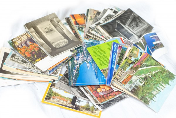 Konvolut gel. Postkarten DDR und teilw. vor 1945 1,52 Kg Kult