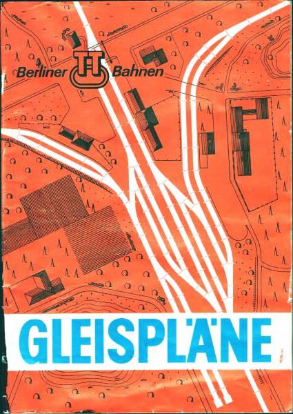 Gleispläne Berliner TT-Bahnen - 1976 / 77 / 78