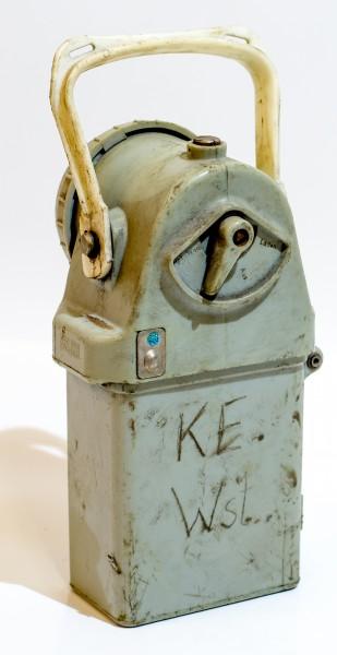 DDR Bergmannslampe Akkuleuchte v. AKA ELECTRIK