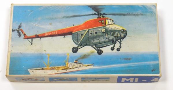 VEB Plasticart MIL MI-4 DDR Hubschraubermodelbaukasten