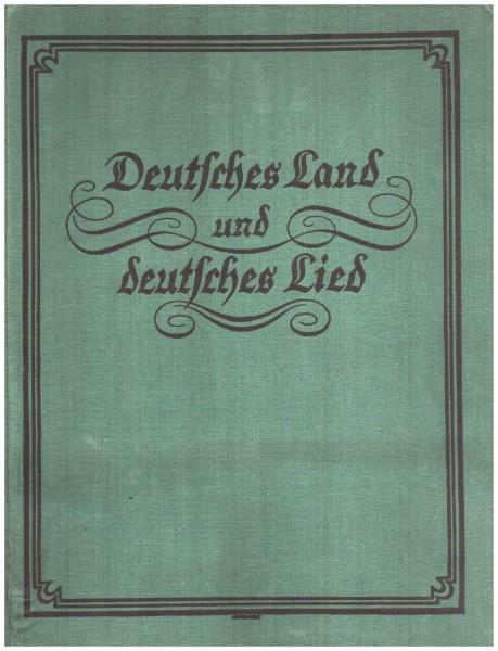 Deutsches Land und deutsches Lied Broschiert – 1920iger