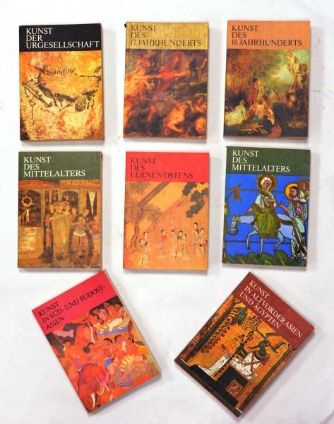 9x Taschenbücher Kunst der Geschichte Tjashelow,, W.