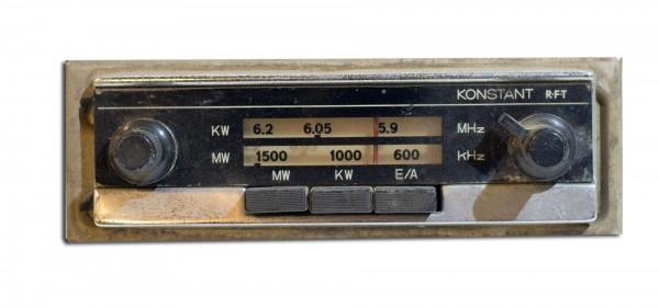 RFT Konstant Autoradio f. Oldtimer