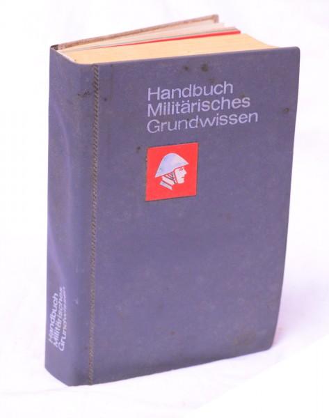 DDR NVA Mil. Grundwissen 1977