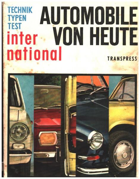 Automobile von heute. Technik, Typen, Test TRANSPRESS DDR