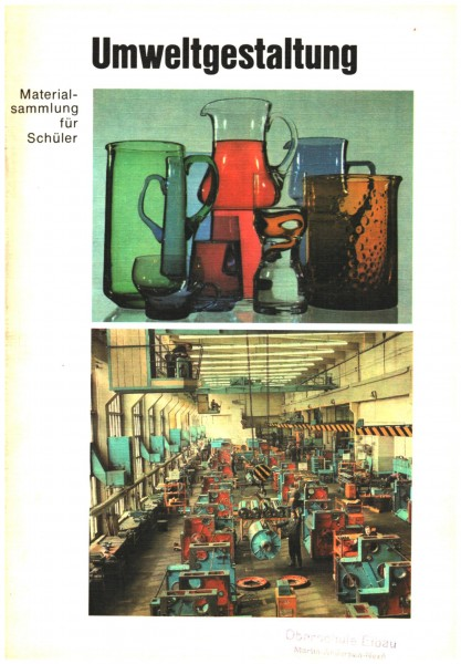 Umweltgestaltung - Materialsammlung für Schüler DDR 1975