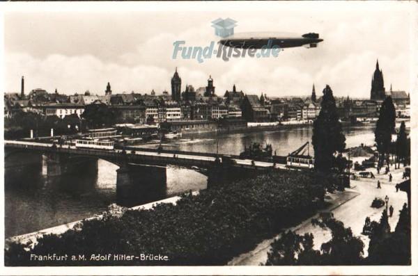 Frankfurt - Adolf Hitler-Brücke, 1935