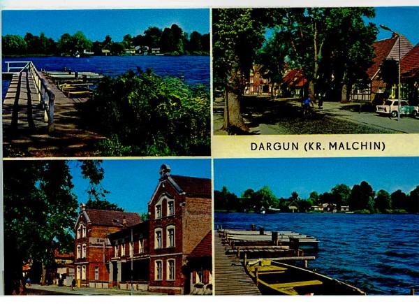 Ansichtskarte DDR Dargun Kreis Malchin