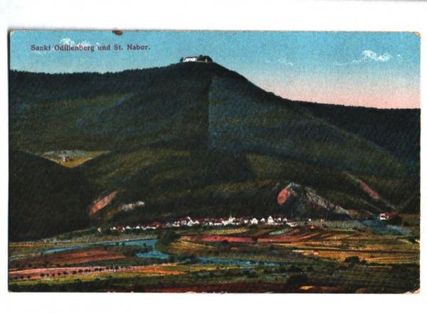 AK: St. Odilienberg und St. Nabor um ca 1917