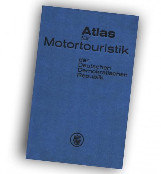 Atlas für Motortouristik der Deutschen Demokratischen Republik. OSTALGIE