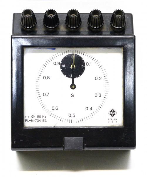 Messgerät mit Rücksteller Eichung EAW PL-Nr.734153 MB4599 DDR