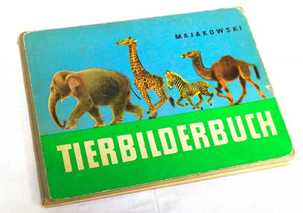 wundervolles DDR Tierbilderbuch v. Majakowski Wladimir 1952