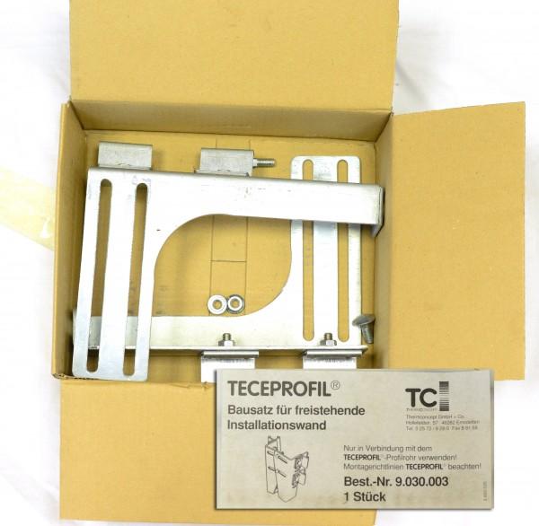 Teceprofil Bausatz f. freistehende Installationswand Best.-Nr. 9.030.003