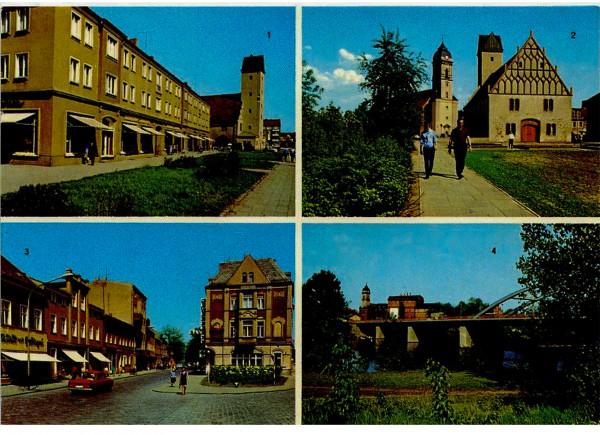 Ansichtskarte DDR Fürstenwalde Spree