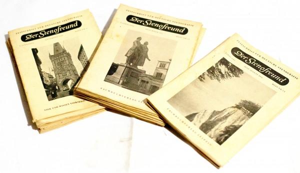 Konvolut Der Stenofreund DDR 50iger 1956/57/58