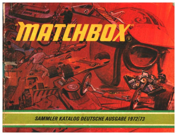 Matchbox - Sammler Katalog Deutsche Ausgabe 1972/73