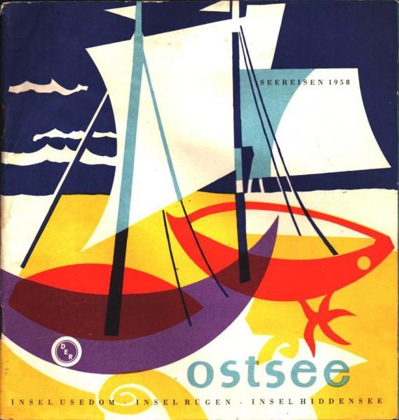 DDR SEEREISEN 1958 Katalog Ostsee Ostalgie