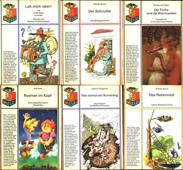 6x DDR Kinderbücher Bunte Kiste Ostalgie