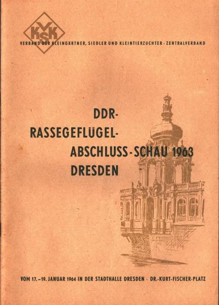 Rassegeflügelschau 1963
