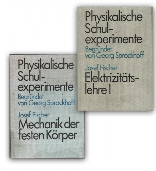 phys. Schulexperimente Elektr. Lehre 1 & Mechanik der festen Körper DDR