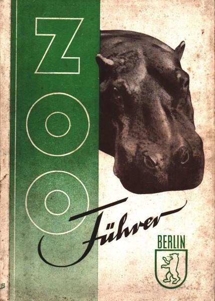 Zoo Führer Berlin 1951 Erster Führer und Bericht nach dem Weltkrieg Selten RAR