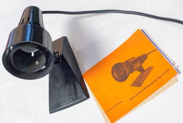Infrarot Bestrahlungsgerät Type IR 2/3 ohne Leuchtmittel