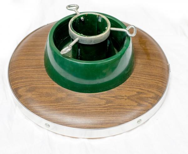 DDR Weihnachtsbaumständer mit Wasserbehälter VEB Spanplattenwerk