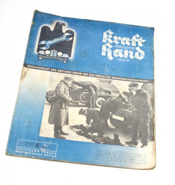 Kraftfahrzeug Handwerk 02. 1940 13 Jahrhgang Heft 5