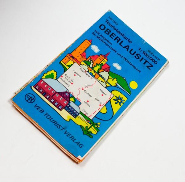 Touristenkarte Oberlausitz