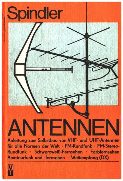 Anntennen - Spindler DDR Anleitung zum Selbstbau von VHF und UHF Antennen